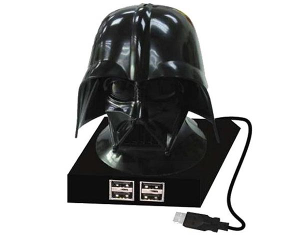 Darth Vader USB Hub with Iconic Breathing Noises