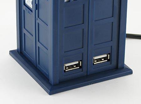 Doctor Who TARDIS 4-Port USB Hub