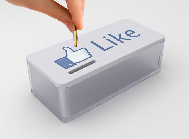 Facebook Like Button Styled Tip Box