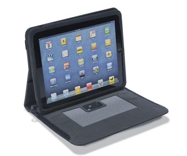 iPad Case with Two Speakers