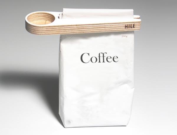 Kupu Wooden Coffee Scoop and Bag Sealer