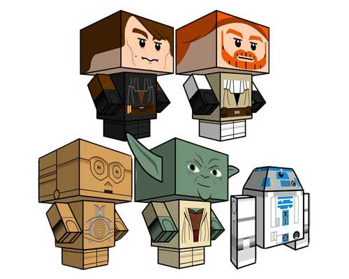 LEGO Star Wars Paper Crafts