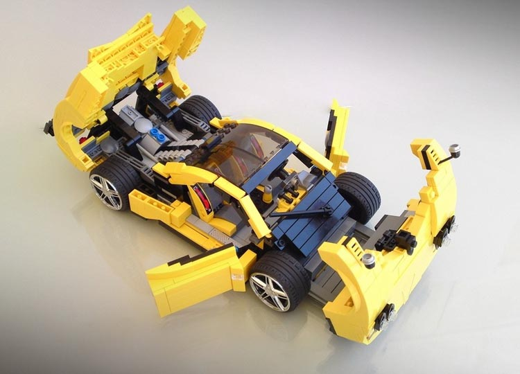 Lego Super Car Pagani Zonda C12 S Gadgetsin