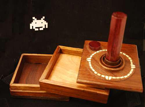 Make Your Own ATARI Joystick Jewelry Box