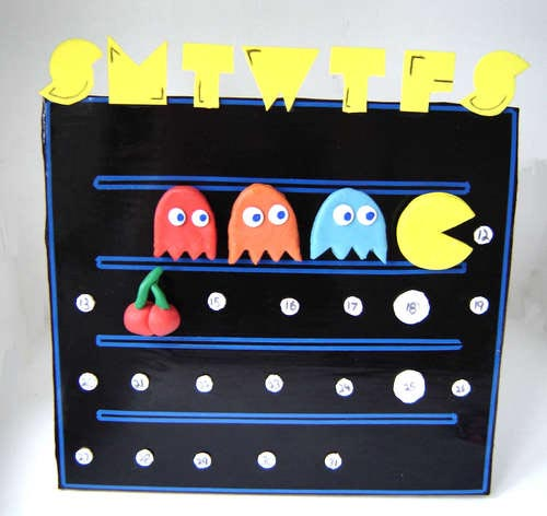 Make Your Own Pacman Perpetual Calendar