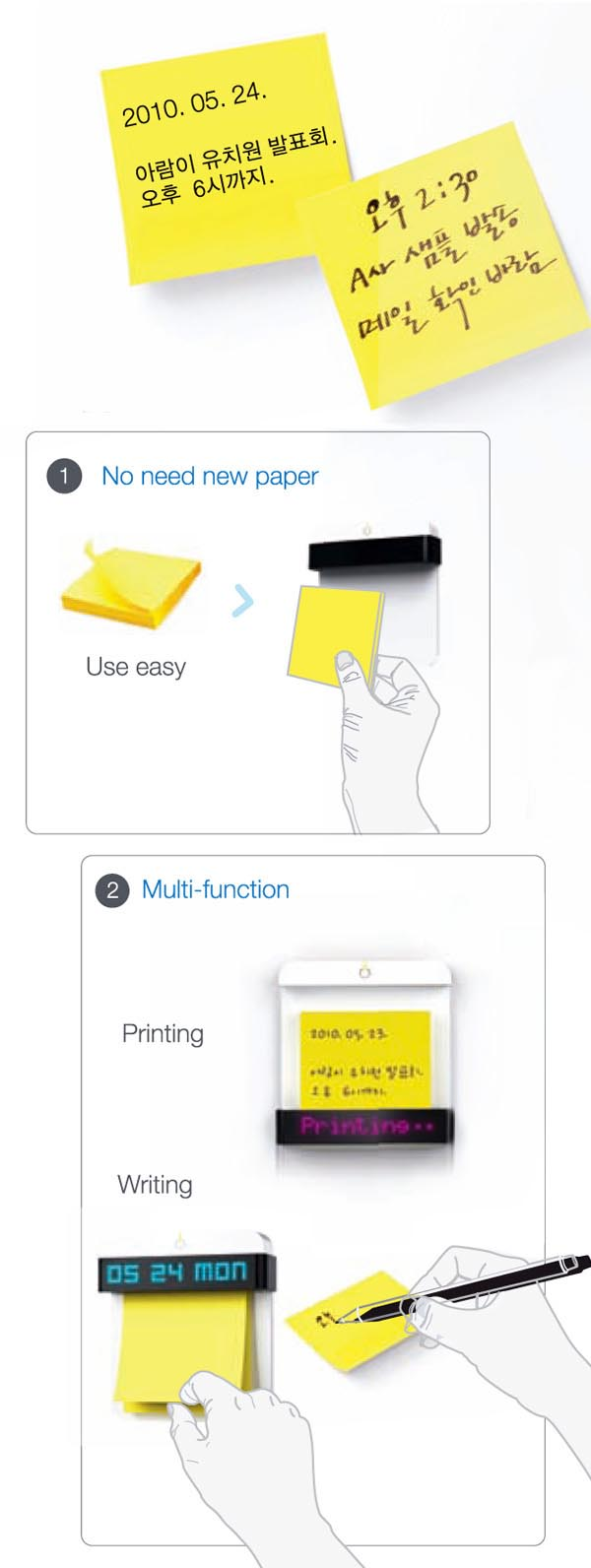 Post-It Printer