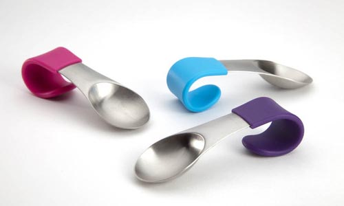 Quirky MugStir Stainless Steel Spoon