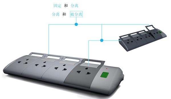 Single Hand Socket Strip Design Concept