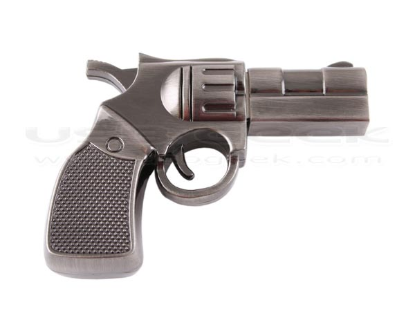 Smith & Wesson Revolver Shaped USB Flash Drive