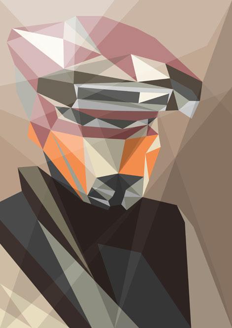 Star Wars Stroke Abstract Art Gadgetsin