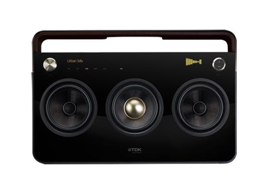 TDK 3 Speaker Boombox Audio System