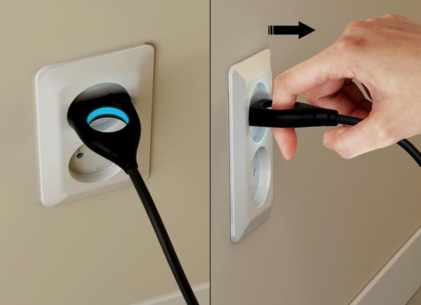 TRON Styled Universal Plug