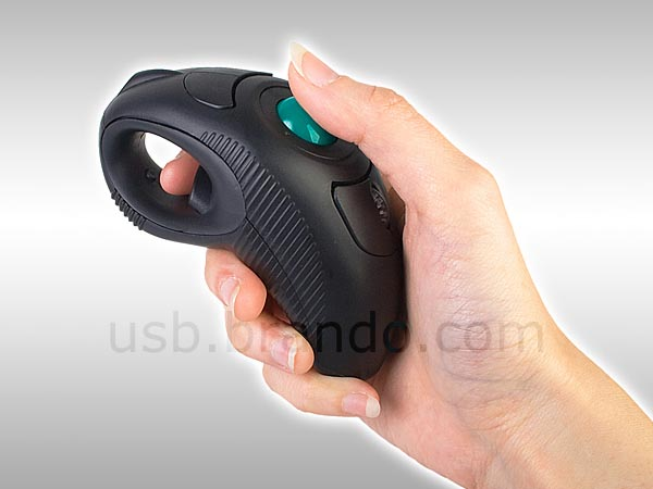 Wireless USB Trackball Mouse