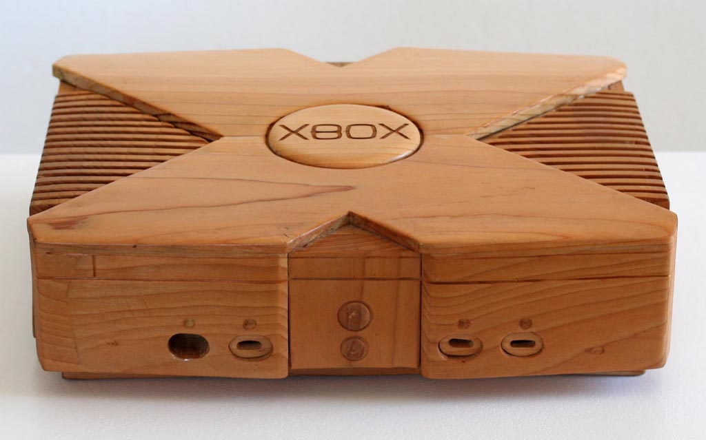 Console Wooden : Wooden Xbox Game Console  Gadgetsin