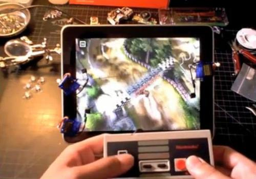 Enjoy iPad Games with NES Gamepad