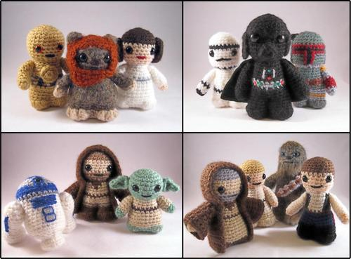 Star Wars Mini Amigurumi Patterns