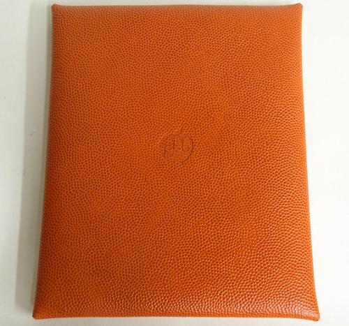 Handmade Genuine Basketball Leather iPad Case