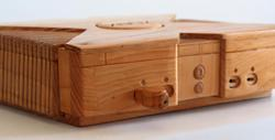 Wooden Xbox Game Console