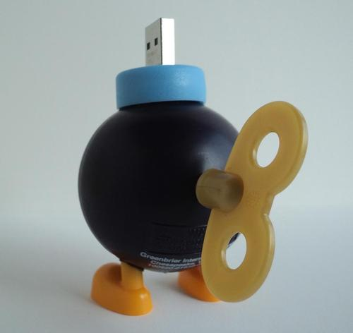 Bob-Omb USB Flash Drive Not Ready for Super Mario Bros