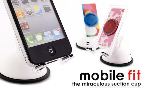 Customizable Mobile Fit iPhone Stand