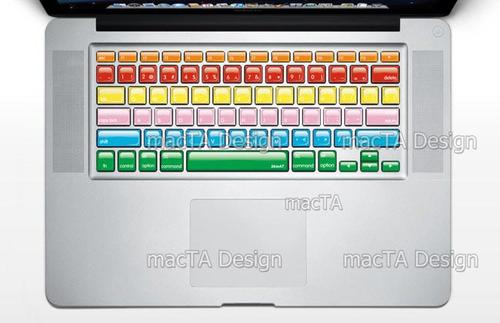 Crystal Styled MacBook Keyboard Stickers