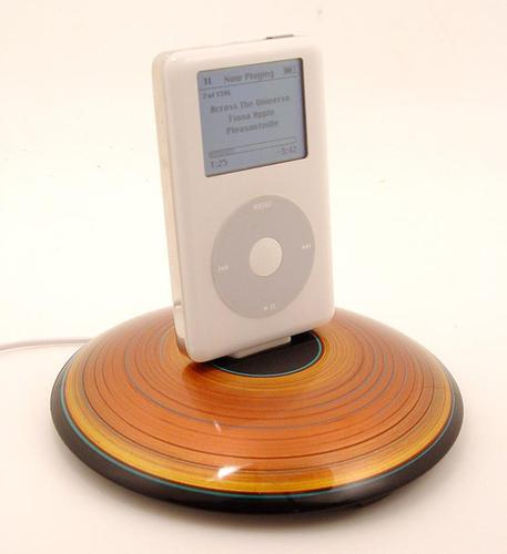 Handcrafted iPhone iPod Docking Station