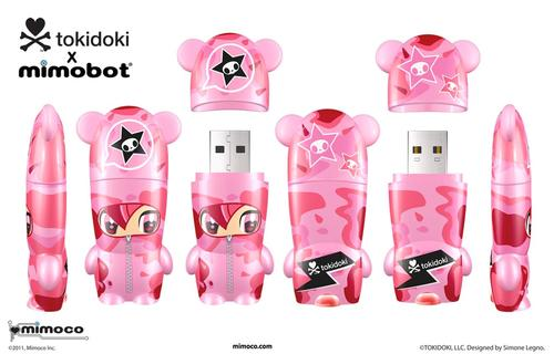 New Tokidoki X Mimobot USB Flash Drives