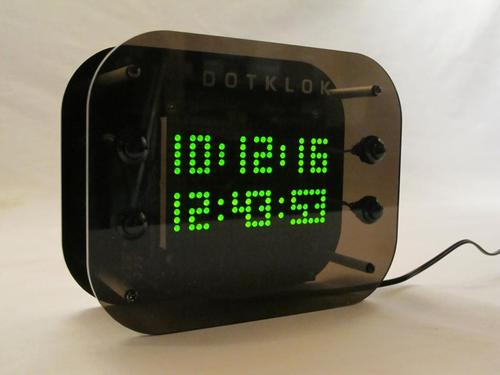DOTKLOK Hackable Open Source Digital Clock