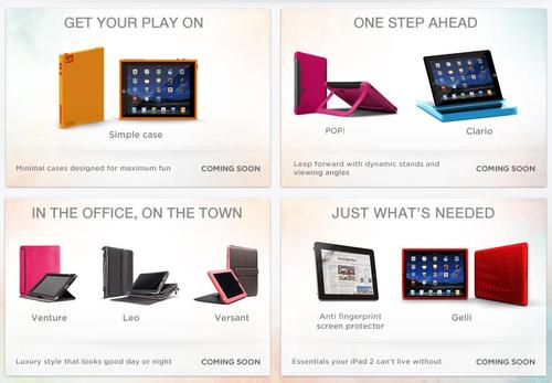 Case-Mate Unveiled New Line of iPad 2 Cases