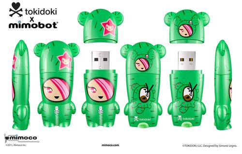 New Tokidoki X Mimobot USB Flash Drives