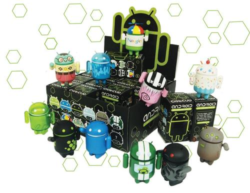 Google Android Collectible Mini Figures Series 2 Now Available for Preorder