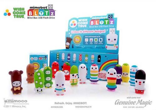 BLOTz Blind Box Mimobot USB Flash Drives