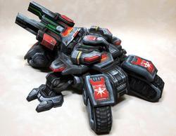 StarCraft 2 Siege Tank Paper Craft