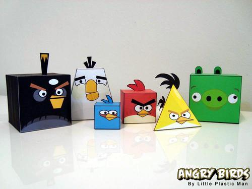 Angry Birds Paper Crafts