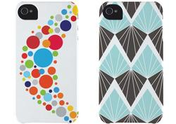 Bioserie Eco-Friendly Printed iPhone 4 Case