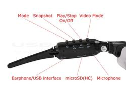 USB Sunglasses with MP3 Player and Spy Camera