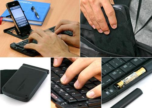 Rboard Foldable Bluetooth Wireless Keyboard
