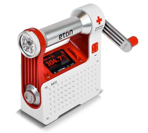 Etón AXIS Weather Radio and USB Cell Phone Charger