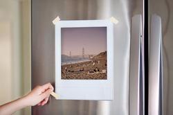Vintage Instant Photo Frame Decals