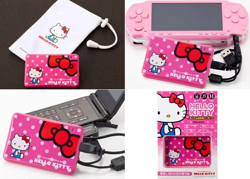 Hello Kitty Themed Portable Charger and Backup Battery
