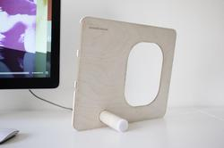 PolyPly Stand for iPad 2, iPhone 4 and iPod Classic