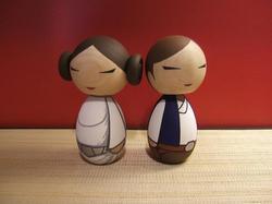 Star Wars Kokeshi Dolls