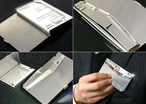 Gundam Shield Business Card Holder