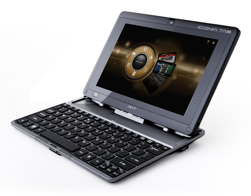 acer iconia tab w500 windows 7 tablet pc with keyboard dock gadgetsin. Black Bedroom Furniture Sets. Home Design Ideas