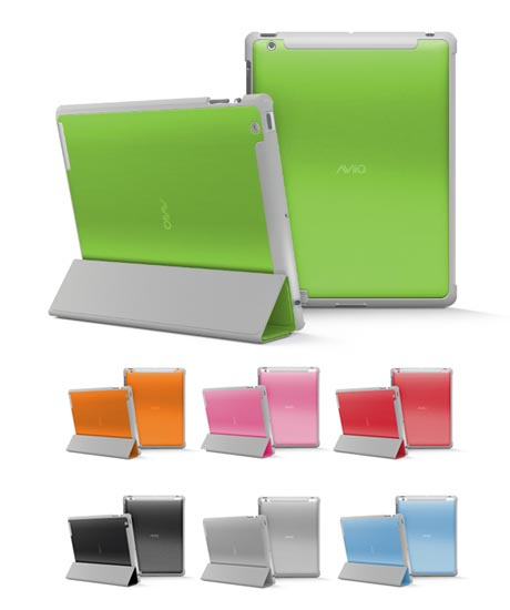 AViiQ Smart iPad 2 Case Compatible with Apple Smart Cover