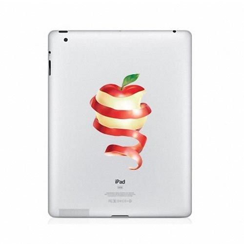 Colorful Apple iPad 2 Decal