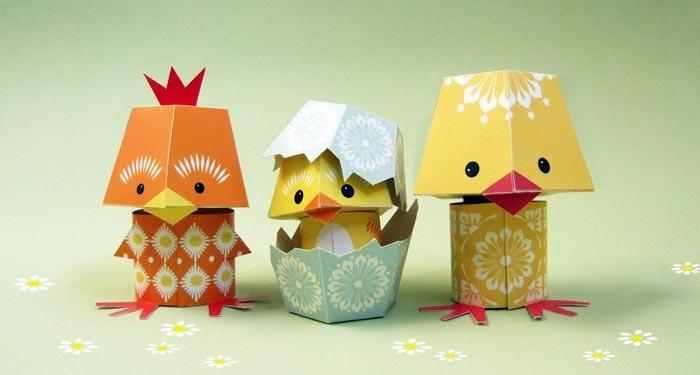 Cute Animal Paper Crafts Designed By Mibo Gadgetsin