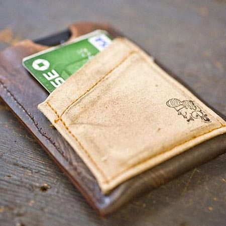 CXXVI Handmade Leather iPhone Wallet
