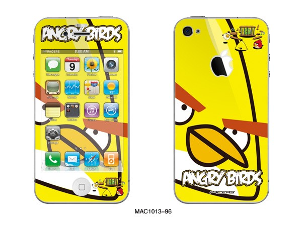 Full Body Angry Birds iPhone 4 Decals