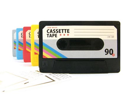 Fuuvi Cassette Tape Name Business Card Holder